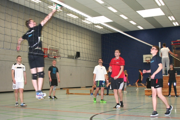 Volleyballturnier am 02.03.2017