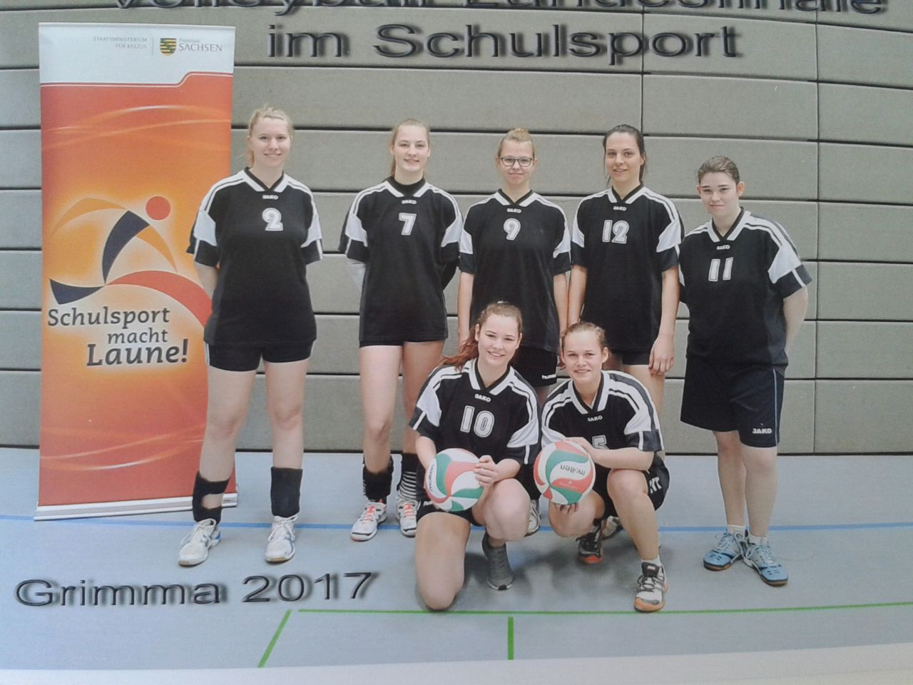 Landesfinale Volleyball