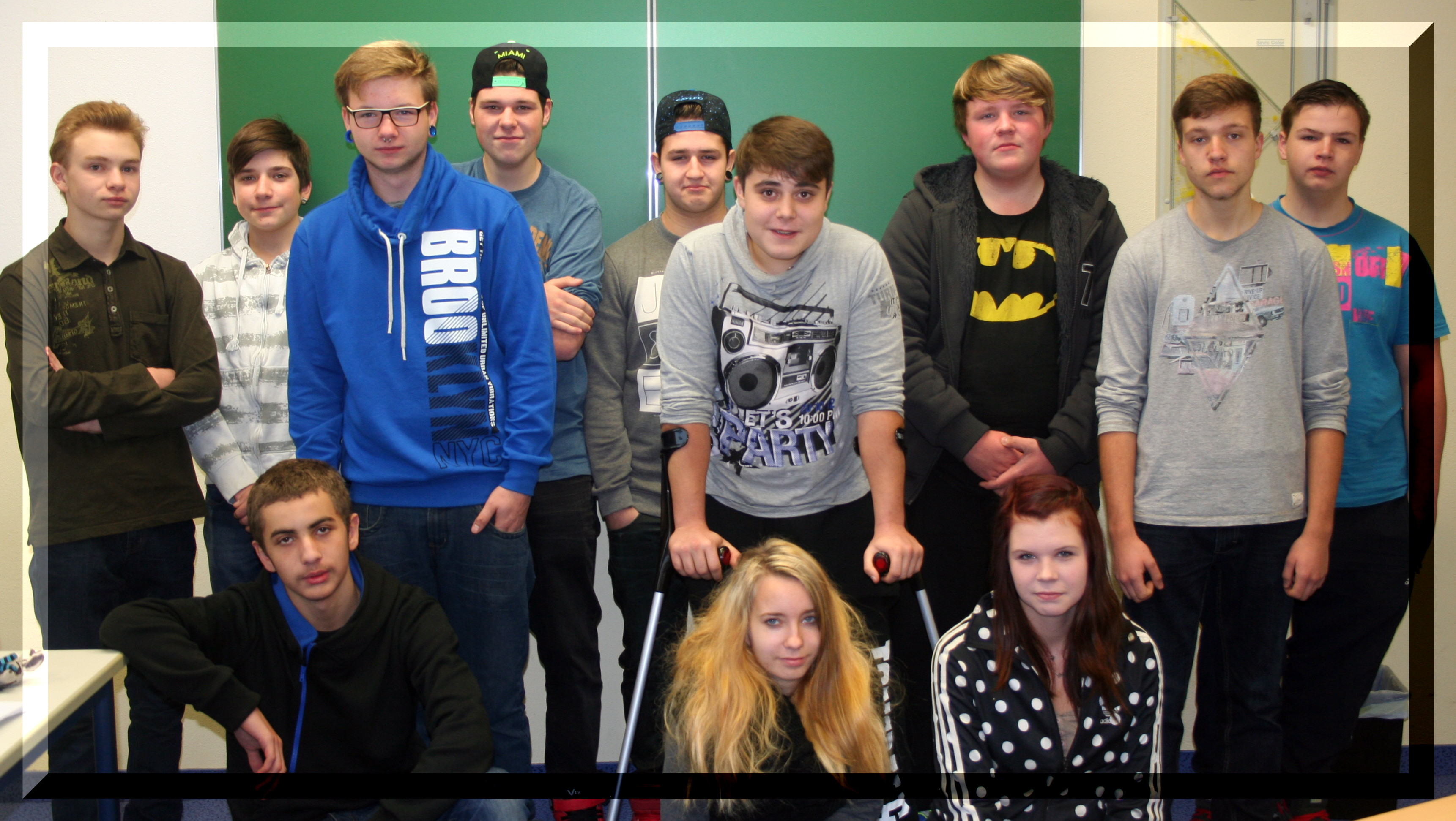 Klassenfoto BVJ August 2015